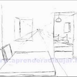 apprendre a dessiner l interieur d une maison. Black Bedroom Furniture Sets. Home Design Ideas