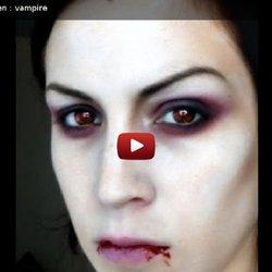 Modele maquillage halloween vampire - Maquillage vampire halloween ...