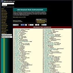 100 greatest rock instrumentals
