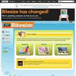 bitesize english coursework