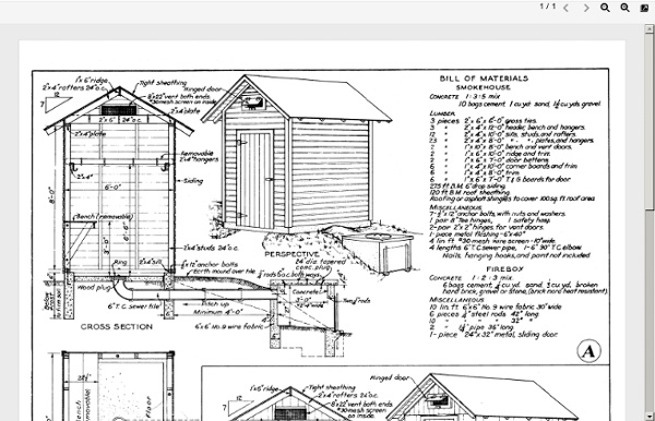 smokehouse plans pdf