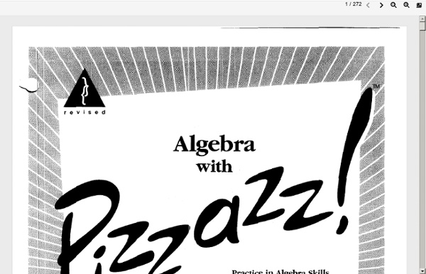 Posted by on Mar 21st, 2015 | Comments Off on Algebra with pizzazz pdf ...