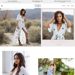 Cheap online clothing stores. Tobi clothing store locations