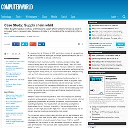 zara case study supply chain forum Improving construction logistics a case study of residential building project  i  supply chain management is an important concept which is closely related to the.